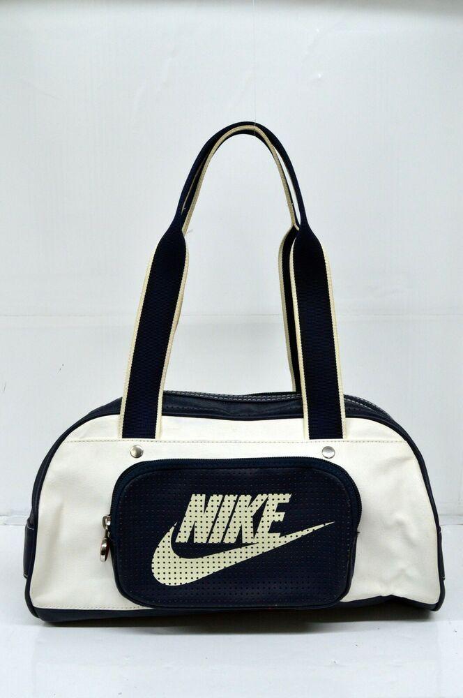 5a713ddf96 Borsa NIKE Borsello Donna Bag Woman Borsello Zaino Casual Bianco Blu ...