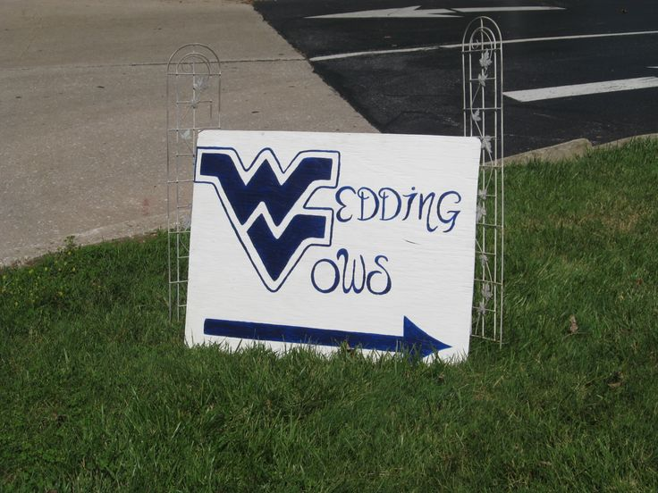 Sign made by a friend, I had to have a little touch of WV