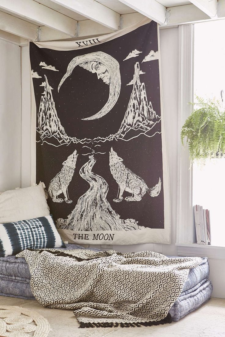 "MSRP: $49.00 GLAM: $27.00 Measures Approx. 85"" x 55"" Inches (Twin Size) Color: Black Mesmerizing tapestry crafted in soft woven cotton. Instantly adds a unique touch of boho charm to any living space"