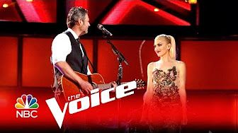 "Miley Cyrus, Alicia Keys, Adam Levine and Blake Shelton: ""Dream On"" - The Voice 2016 - YouTube"