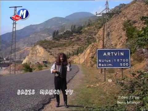 ARTVİN  1988 Barış MANÇO İle Dere Tepe Türkiye
