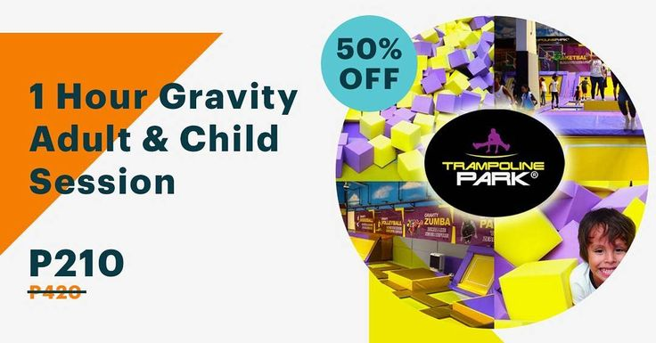 Have a fun time with your toddler at Trampoline Park - Zero Gravity Zonefor half the price off at supremedeals.com! #SupremeDeals #fun #adventure #exciting #weekend