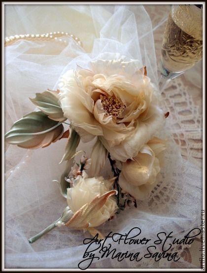 http://www.livemaster.ru/item/3946743-tsvety-floristika-rozy-nevesta-v-stile-moet