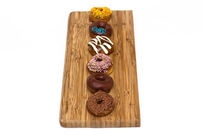 Easy Mini Baked Chocolate Glazed Doughnuts