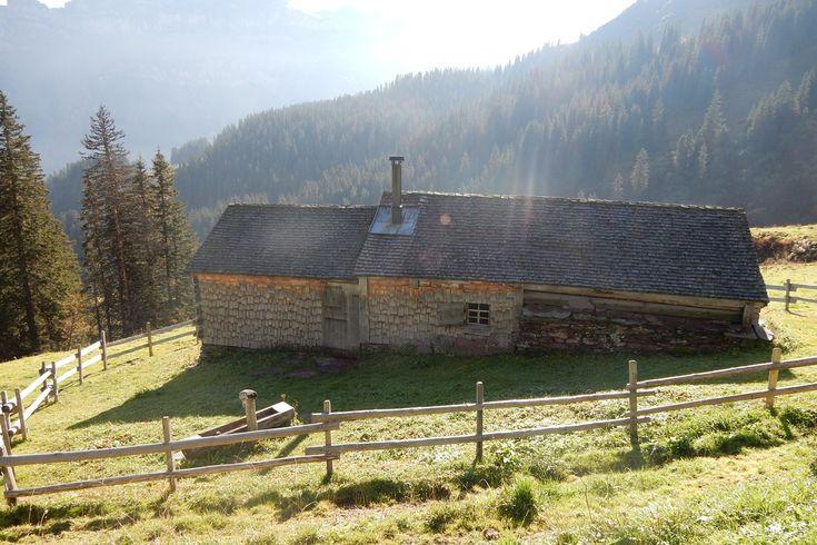 Mulchenhütte, (Flumserberg Bergheim). Alphütte für 6 Personen, Flumserberg