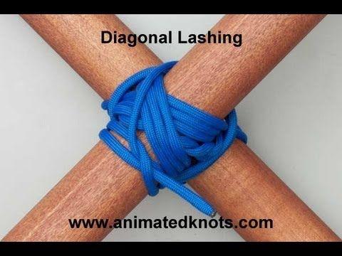 HOW TO: Diagonal Lashing