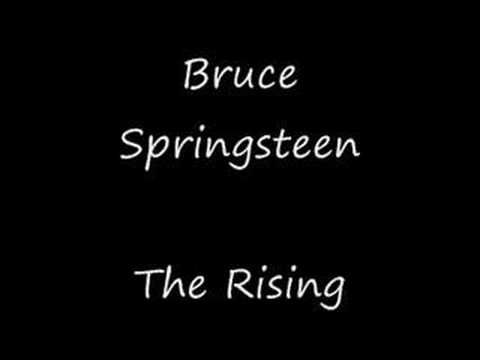 The Rising - Bruce Springsteen (High Quality + Lyrics) - YouTube