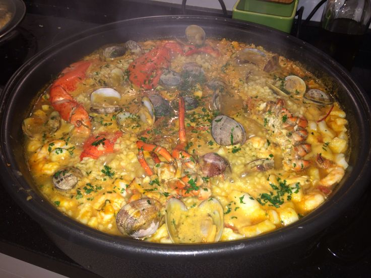 Arroz con marisco/rice with seafood
