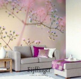 Eijffinger Wallpower Wanted  Artikelnummer: 301627  Afmetingen: 372CM breed en 280CM hoog ( 8 banen)  Prijs €320,00  Behangplaksel: Perfax roze  Fotobehang Blush