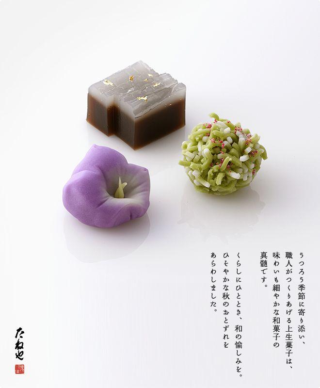 上生菓子 初秋|上生菓子|たねやのお菓子 | たねや
