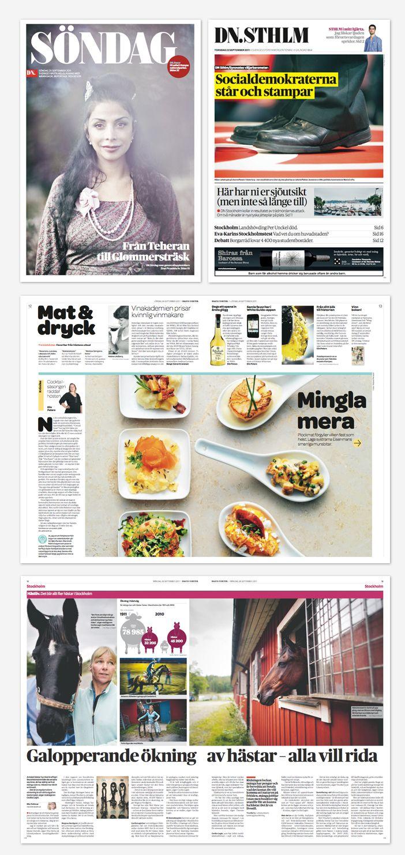 erreacom | DISEÑO PERIODÍSTICO | Periódicos | Dagens Nyheter