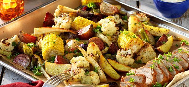 Kockens — Kryddig filé med grönsaker