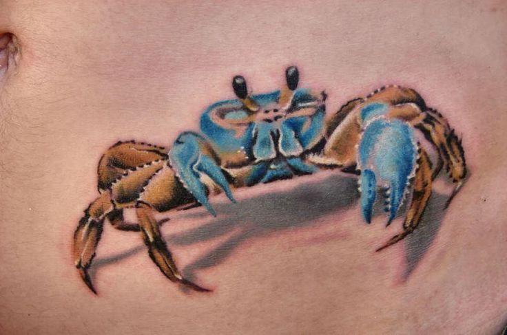 crab tattoos | More Tattoos Pictures Under: Crab Tattoos