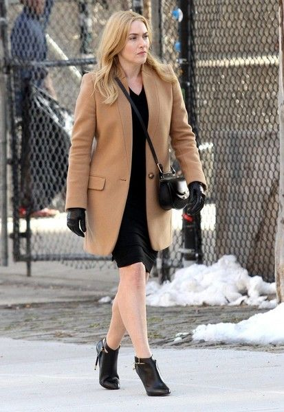 Kate Winslet Photos Photos - Celebrities film scenes for the upcoming movie 'Collateral Beauty' at a Farmers Market in New York City, New York on March 30, 2016. The movie was being filmed on location in Manhattan's Washington Heights area.<br /> <br /> Pictured: Kate Winslet - Celebrities on the Set of 'Collateral Beauty'