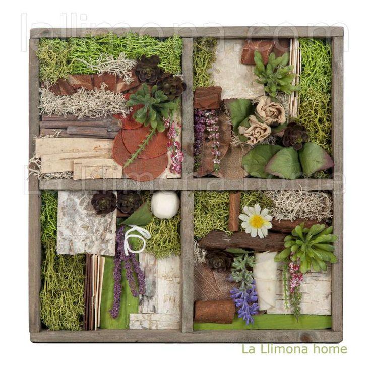 Las 25 mejores ideas sobre jardin vertical artificial en - Cuadro jardin vertical ...
