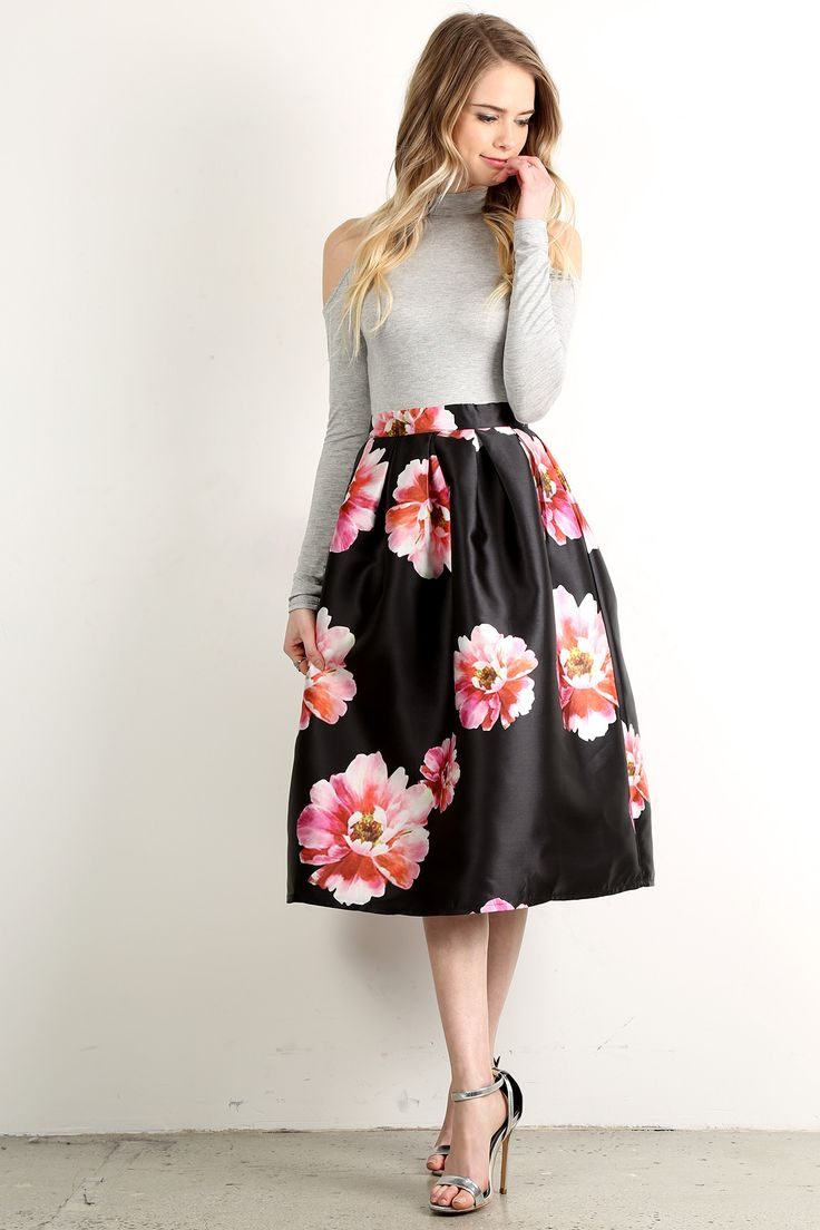 floral high waisted skirt top 25 best high waisted skirt outfits ideas on pinterest 9510