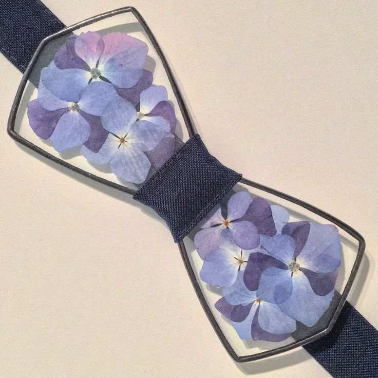 Unique bowties, unisex made with real flowers inside.