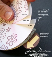 Julie's Stamping Spot -- Stampin' Up! Project Ideas Posted Daily: Moving Circle Card Tutorial