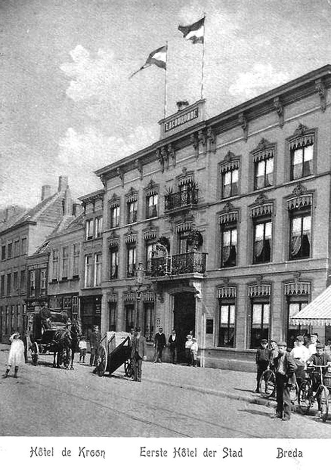 Hotel de Kroon, Boschstraat Breda