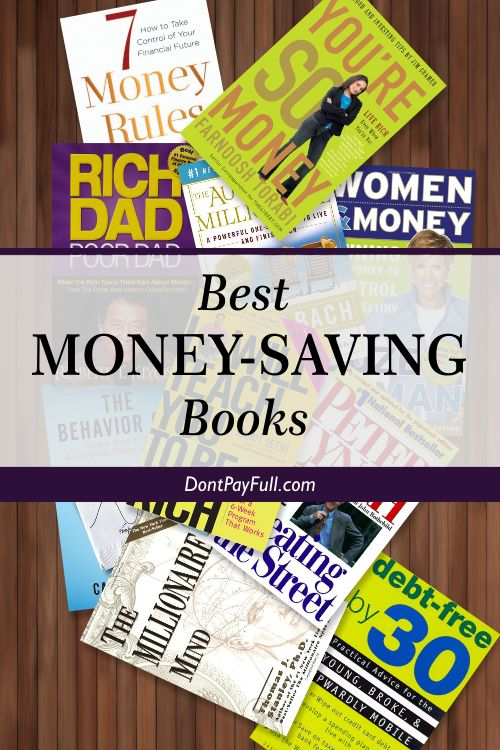 Looking for money-saving books? Here are the Best Money-Saving Books You Should Read Right Now! Retirement, investment, everyday expenses, all you need! #DontPayFull