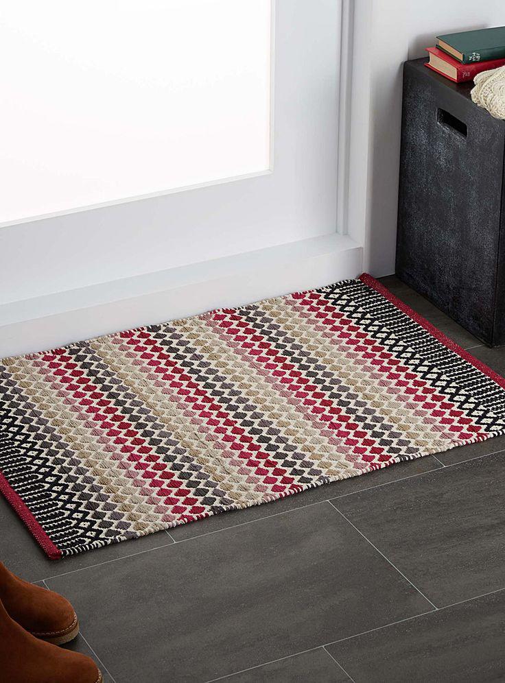 Mini diamond kilim rug 60 x 90 cm - Patterned - Assorted