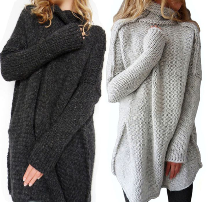 Damen Pullover Strickjacke Strick Lang Pulli Jacke Cardigan Sweatshirt Pulli