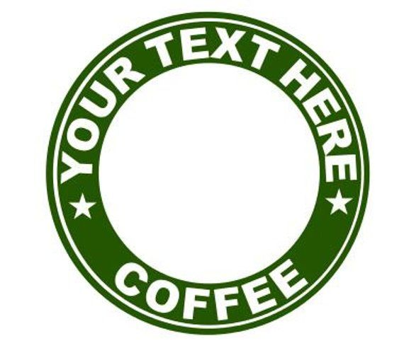 Digital File For Starbucks Personalized Cup Starbucks Decal Sbux Sticker Diy Starbucks Starbucks Starbucks Coffee Cup Starbucks Diy Starbucks Mugs