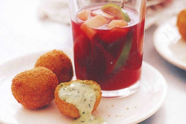 With a hint of saffron for colour and flavour, these tasty fish balls make a delicious entree for those special occasions.