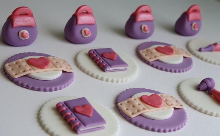 Doc McStuffins Inspired Fondant Cupcake Toppers. $23.95, via Etsy.