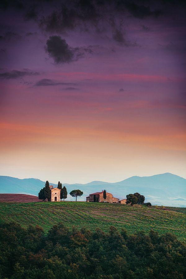 Church in Tuscany, Italy, roblfc1892, on deviantART