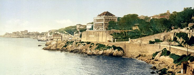 fort in Marseilles harbor