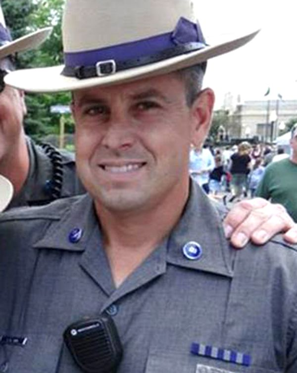 New York State Police Sgt. Jay Cook is seen here in a photo from 2014. - New York State Police