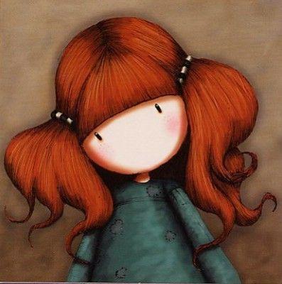 Petite Annie ~✿ڿڰۣ Gorjuss by Suzanne Woolcott*