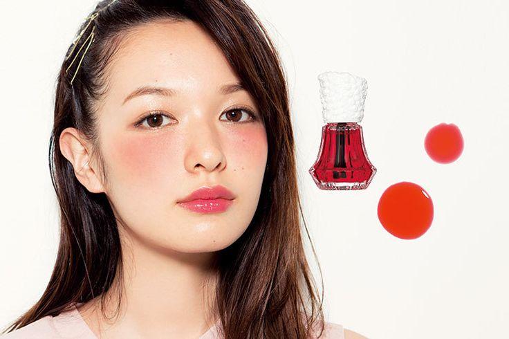\ほわっ/と色づく頬が作れる♡マニキュアみたいな【水チーク】が超優秀だと話題に♡ | GIRLY