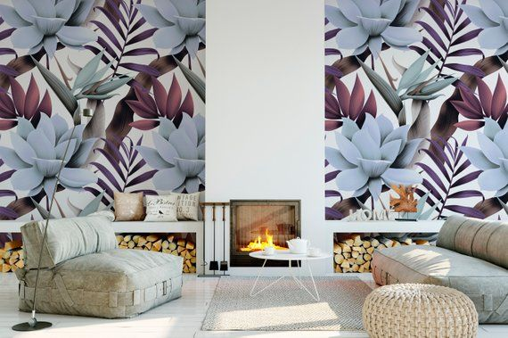 High Quality Peel And Stick Removable Self Adhesive Wallpaper Etsy Peel And Stick Wallpaper Paradise Wallpaper Home Wallpaper