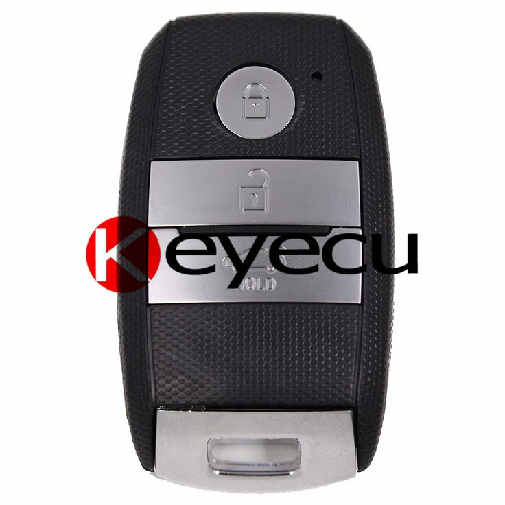 New Smart Car Remote key Shell Case 3 Button Fob for Kia K3 K5 + Uncut Blade #Affiliate
