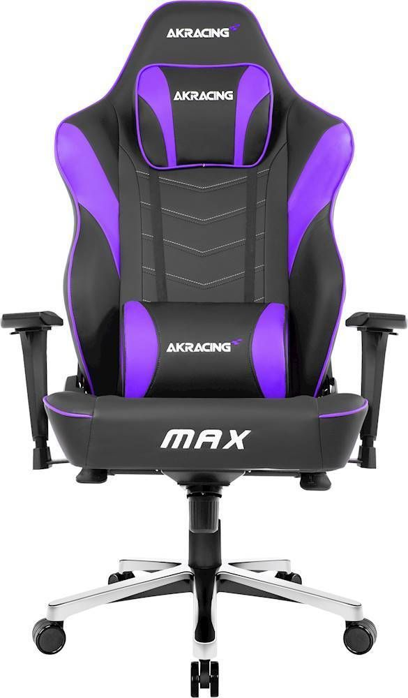Sit Comfortably For Hours Of Gaming In This Akracing Masters Series Max Gaming Chair The 4d Adjustable Armrests And In 2020 Gaming Chair Gamer Chair Game Room Design