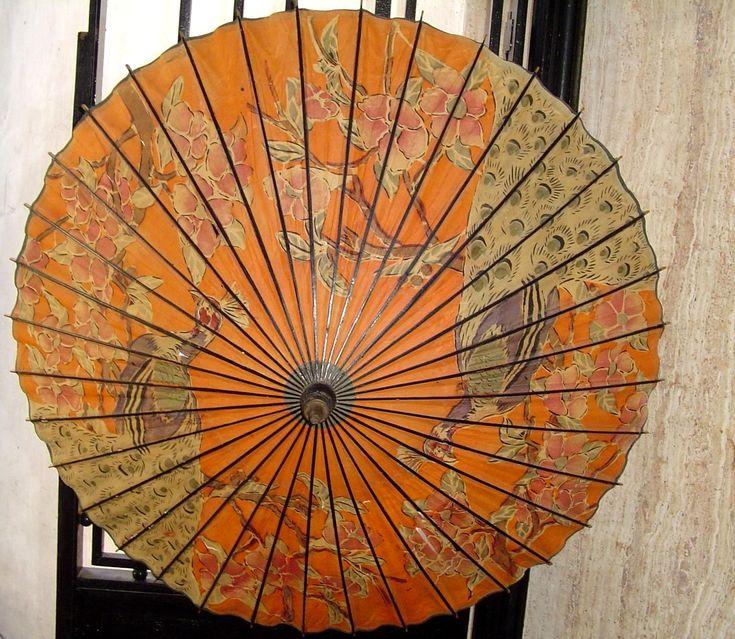 Japanese paper umbrella
