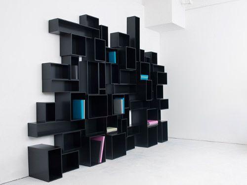 17 meilleures id es propos de tag res cubiques sur pinterest organisateu - Bibliotheque cubes modulables ...