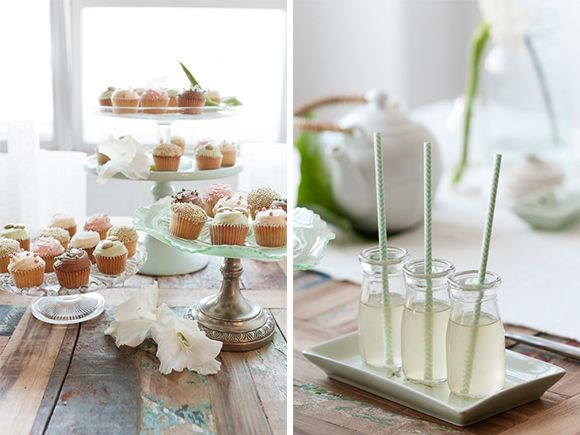 Green tea inspired bridal shoot by Anna Munro