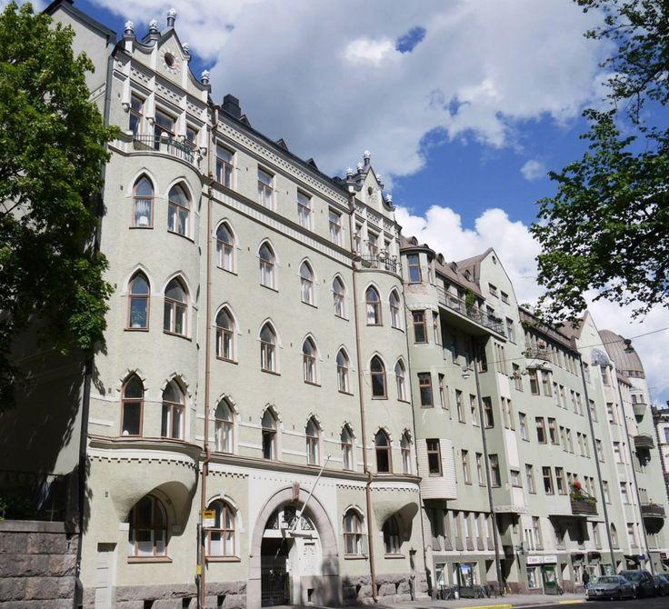 Architecture in Helsinki - Liisankatu 11