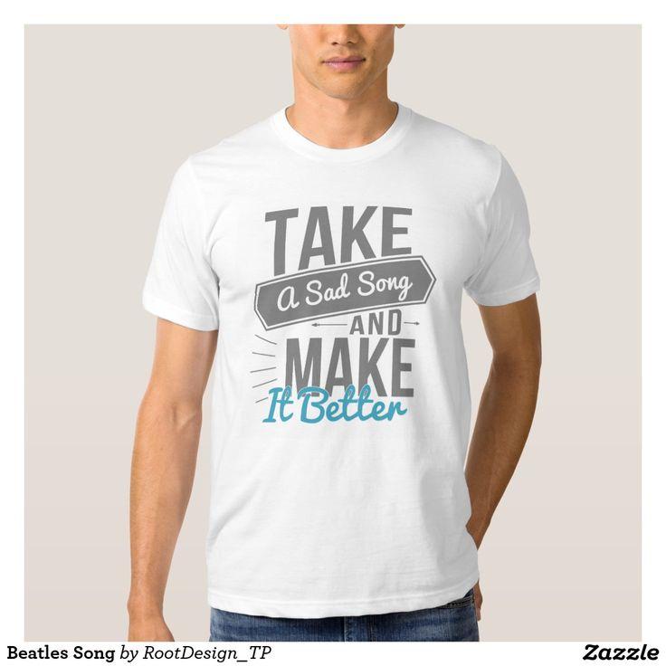 Beatles Song T-shirt