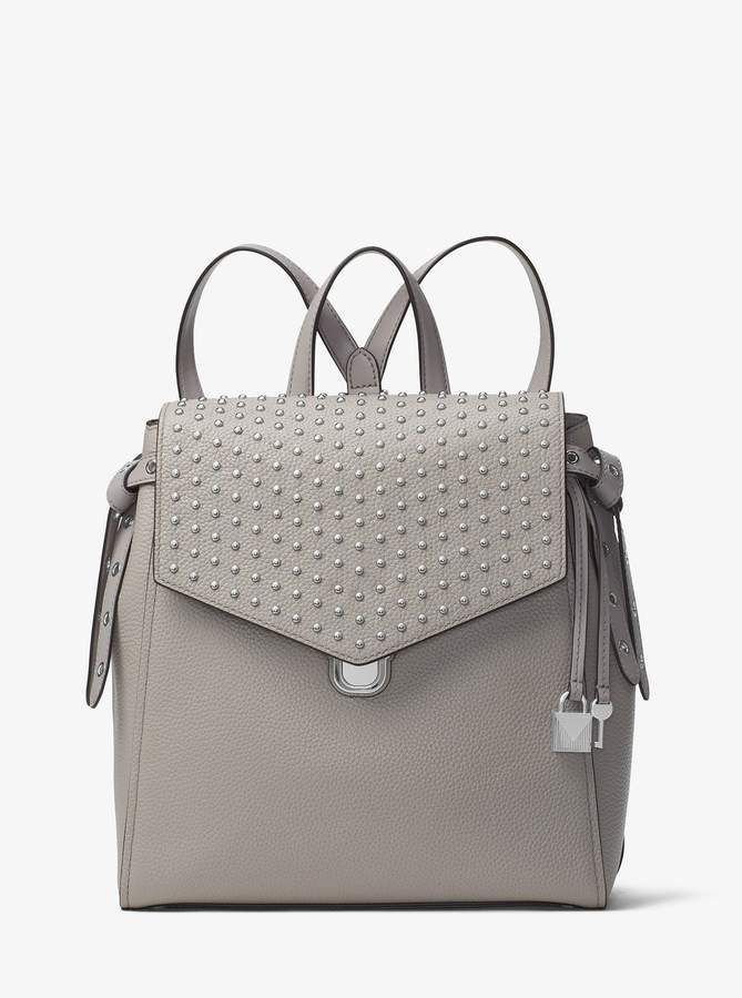 3b14457e8c72 MICHAEL Michael Kors Bristol Medium Studded Leather Backpack ...