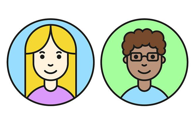 In today's tutorial we'll use the vector tools in Adobe Illustrator to produce a simple avatar character …