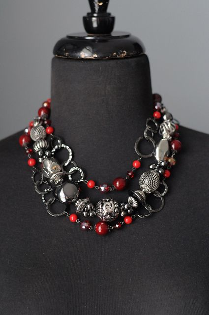 Very Berry with Eclectic by TheBlingTeam, via Flickr. Premier Designs Jewelry Carolyn Popp