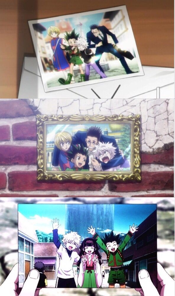 Kurapika, Leorio, Killua, Alluka, and Gon    ~Hunter X Hunter