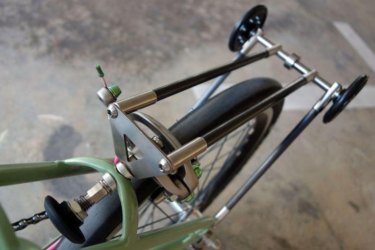 Ti-Carbon Rear Rack | Bike48 - Brompton Ti Custom Parts