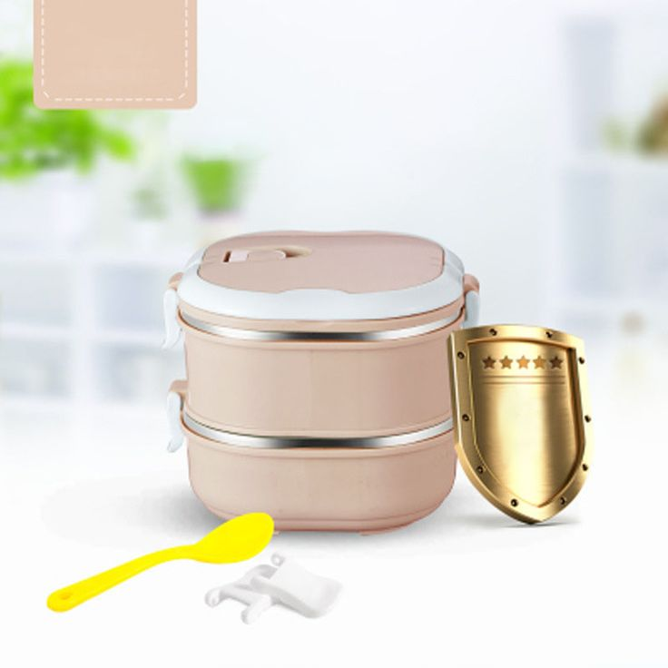 KCASA KC-BCH10 Portable Insulation Lunch Box Stainless Steel Thermal Bento Box Food Container Cheap - NewChic Mobile