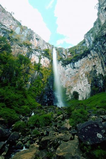 Santa Catarina Brasil » Guia para profissinais de Turismo - Quedas em Urubici_Rapel