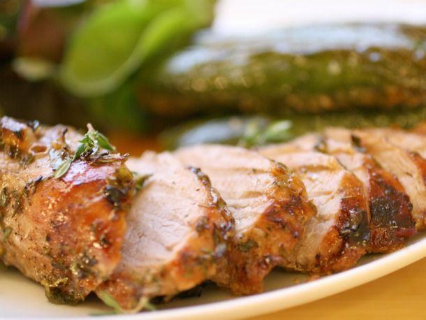 Ginger Thyme Roast Pork
